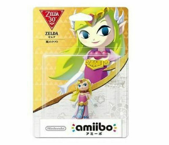 Zelda (Wind Waker) Amiibo  - Japan Import