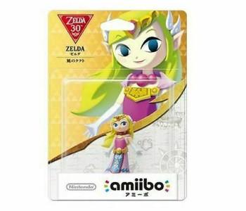 Zelda (Wind Waker) Amiibo  - Japan Import