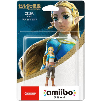 BotW Zelda Amiibo  - Japan Import