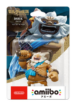 BotW Daruk Amiibo  - Japan Import