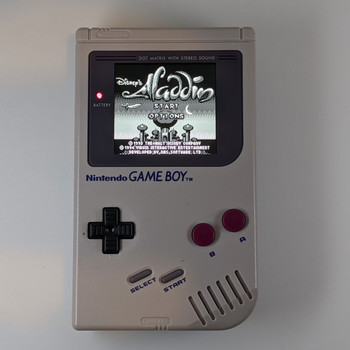 Gameboy Original RETRO PIXEL DMG IPS LCD Kit (DMG)