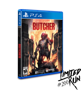 Butcher- Limited Run (Playstation 4)