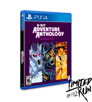8-Bit Adventure Anthology - Limited Run (Playstation 4)