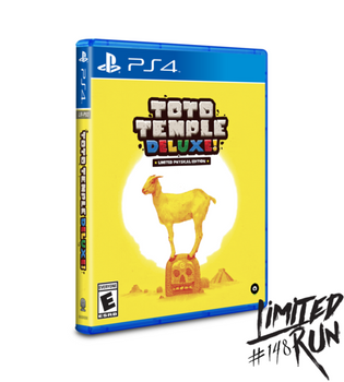 Toto Temple Deluxe! - Limited Run (Playstation 4)