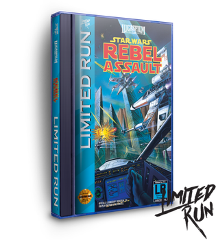 Star Wars: Rebel Assault Classic Edition - Limited Run (Sega CD)