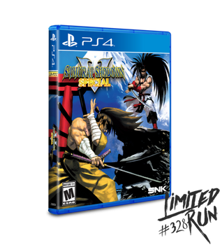 Samurai Shodown V Special - Limited Run (Playstation 4)