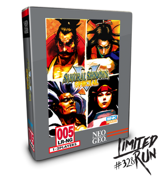 Samurai Shodown V Special Classic Edition -Limited Run (PlayStation 4)