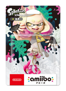 Pearl Splatoon Amiibo - Japan Import