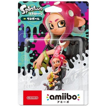Octoling Girl Splatoon Amiibo - Japan Import