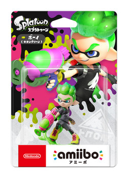 Inkling Boy Splatoon 2 Amiibo - Japan Import