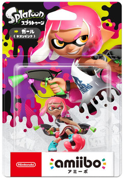 Inkling Girl Splatoon 2 Amiibo - Japan Import