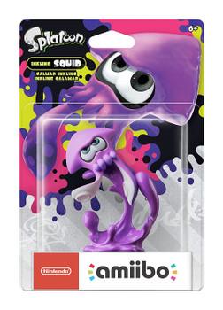 Purple Squid Splatoon 2 Amiibo - Japan Import