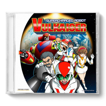 Supercharged Robot Vulkaiser  -JoshProd/PixelHeart (Sega Dreamcast)