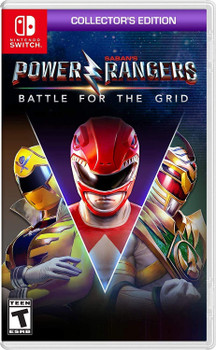 Power Rangers: Battle for the Grid Collector's Edition  (Nintendo Switch)