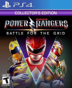 Power Rangers: Battle for the Grid Collector's Edition (PlayStation 4)