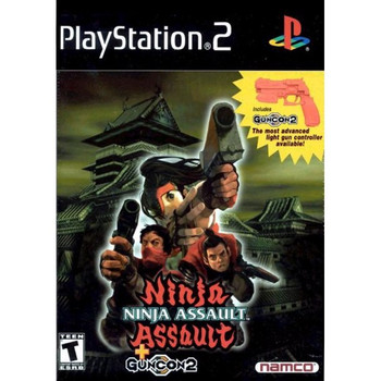 Ninja Assault with GunCon 2 - (PlayStation 2)