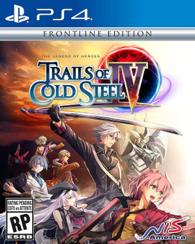 The Legend of Heroes: Trails of Cold Steel IV - Frontline Edition - (PlayStation 4)