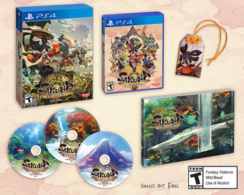 Sakuna: Of Rice and Ruin: Divine Edition (PlayStation 4)