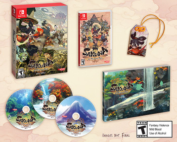 Sakuna: Of Rice and Ruin: Divine Edition (Nintendo Switch)