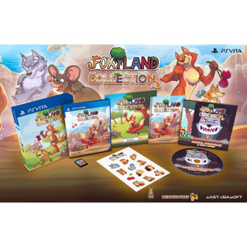 FOXYLAND COLLECTION [LIMITED EDITION] Multi-Langauge (PlayStation Vita)