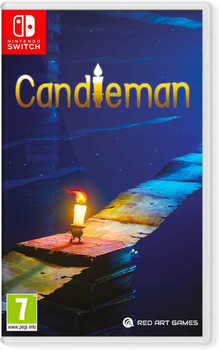 Candleman [French cover] English Language - (Nintendo Switch)