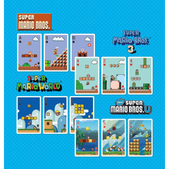 Nintendo Super Mario Game Stage Playing Cards (POKER CARDS) NAP-04