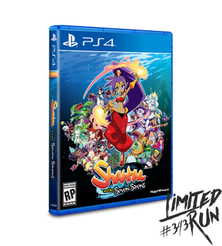 Shantae and the Seven Sirens - Limited Run (Playstation 4)