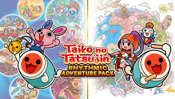 Taiko no Tatsujin: Rhythmic Adventure Pack Nintendo Switch [ENGLISH MULTI LANGUAGE]