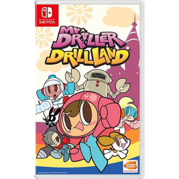 Mr Driller Drill Land - Asian Version - Multi-Language (Nintendo Switch)