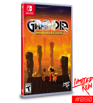 Grandia HD collection- Limited Run (Nintendo Switch)