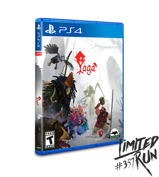 Yaga - Limited Run (Playstation  4)