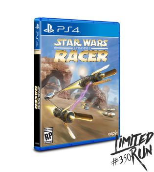 Star Wars Episode I: Racer - Limited Run (Playstation 4)