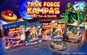 TASK FORCE KAMPAS [Limited Edition] - PlayStation Vita [IMPORT]