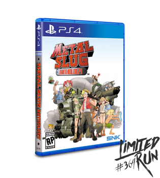 Metal Slug Anthology - Limited Run (Playstation 4)