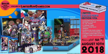 Phantom Breaker Battle Grounds Collector's Edition LR# 165 (PlayStation Vita)