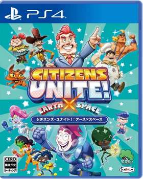 Citizens Unite! Earth x Space (Import) PlayStation 4