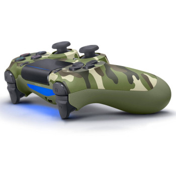DualShock 4 Wireless Controller - Green Camo (PlayStation 4)