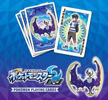 """Nintendo Japan """"Pokemon Moon"""" Playing Card Set (POKER CARDS)"""