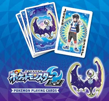 "Nintendo Japan ""Pokemon Moon"" Playing Card Set (POKER CARDS)"