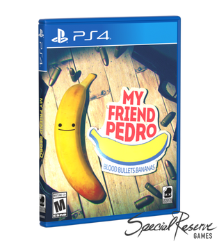 My Friend Pedro - Special Reserve - Alternative Cover (Playstation 4)