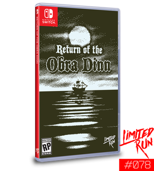 Return of the Obra Dinn - Limited Run Games (Nintendo Switch)