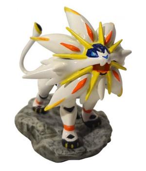 Pokemon Sun - Bonus Solgaleo Figure - Nintento 3DS