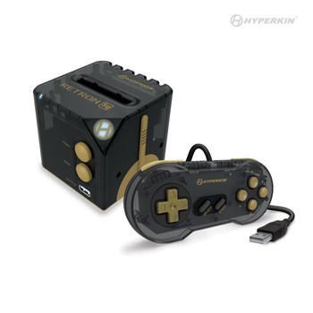 RetroN Sq: HD Gaming Console For Game Boy®/Game Boy Color®/ Game Boy Advance® (BlackGold) - Hyperkin