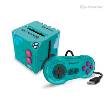 RetroN Sq: HD Gaming Console For Game Boy®/Game Boy Color®/ Game Boy Advance® (Hyper Beach) - Hyperkin