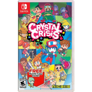 Crystal Crisis Launch Edition - Nintendo Switch