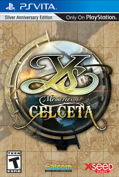 Ys: Memories of Celceta - Silver Anniversary Edition PlayStation Vita