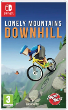 Lonely Mountains: Downhill  - SRG#46 (Nintendo Switch)