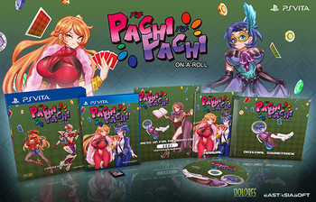 Pachi Pachi On a Roll [Limited Edition] (Asian Import) PlayStation Vita