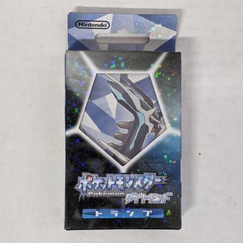 Nintendo Japan Pokemon Diamond Playing Card Set (POKER CARDS)