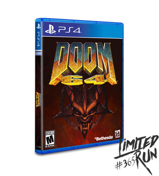 Doom 64 - Limited Run (Playstation 4)